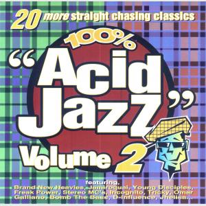 100% Acid Jazz Volume 2 - Various (United Kingdom, 1995)